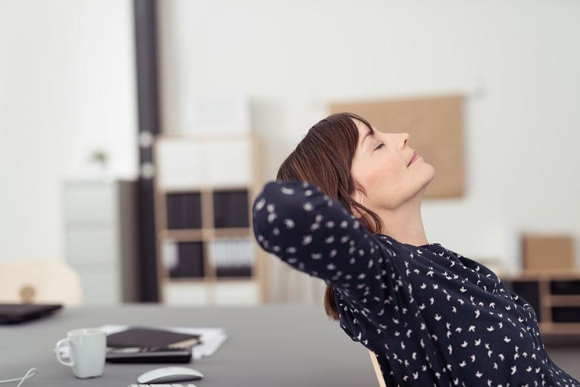 5 tecnicas de relajacion en el trabajo
